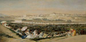 Goya, La pradera de San Isidro, 1788