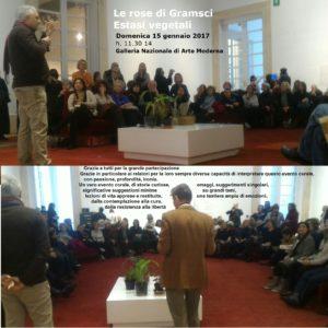 Le rose di Gramsci Andrea Di Salvo Galleria nazionale d'arte moderna e contemporanea Roma GNAM