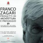Bellezza e civitas Mostra Franco Zagari Andrea Di Salvo Vìride_