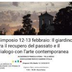 Il giardino in dialogo con l'arte contemporanea - Simposio a Villa Medici