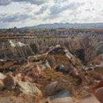 Nei paesaggi di roccia disegnati dal vento